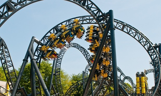 Steel Roller Coaster With Most Inversions