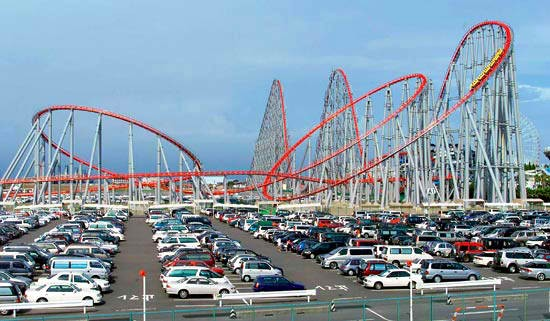 The Longest Steel Roller Coaster
