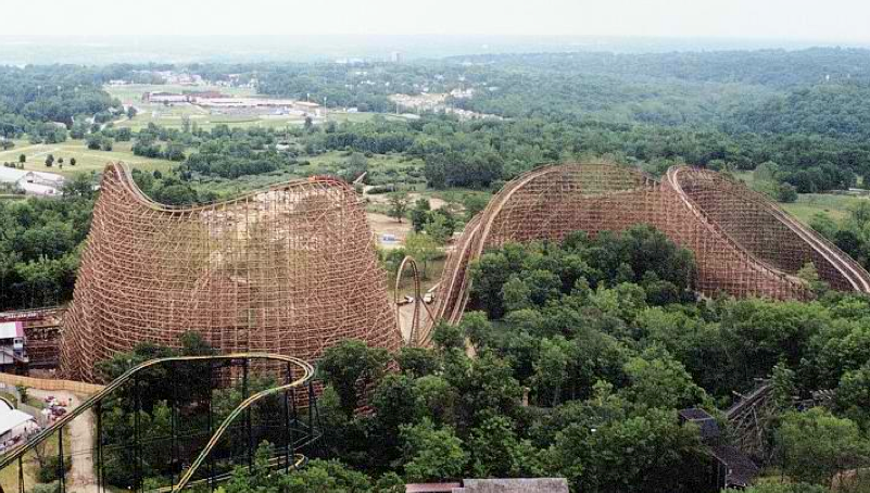 The Longest Wooden Roller Coaster